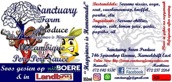 Mozambique peri-peri sauce (125 ml) picture