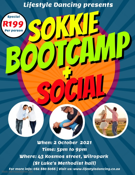 Sokkie and 2 step bootcamp with social 2 october picture