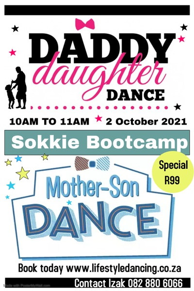 Daddy & daughter / mommy and son sokkie bootcamp 2 october 2021 picture