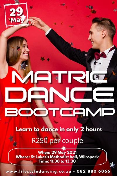 Matric dance bootcamp picture