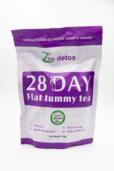 Flat tummy tea picture