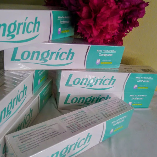 Longrich toothpaste picture