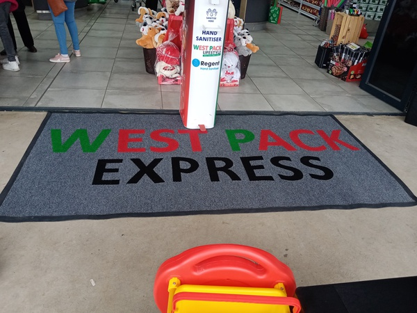 Supermarkets non slip carpets and dirty trapper picture