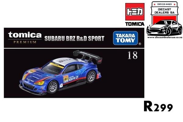 Subaru brz r & d sport picture