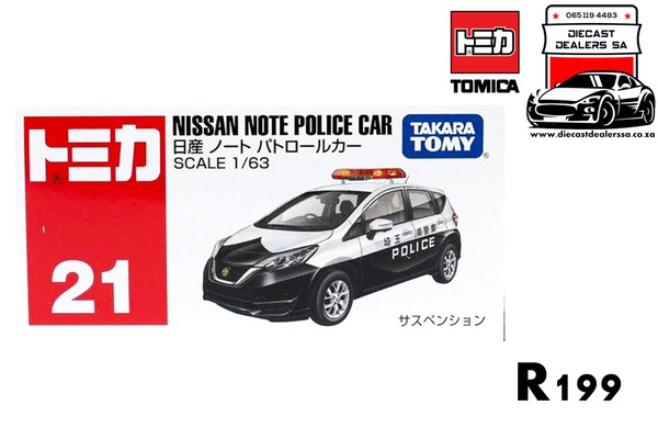 Nissan note police car picture