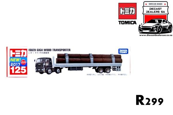 Isuzu giga wood transporter picture