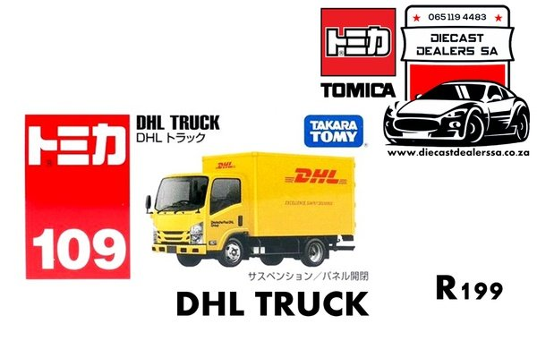 Dhl truck picture