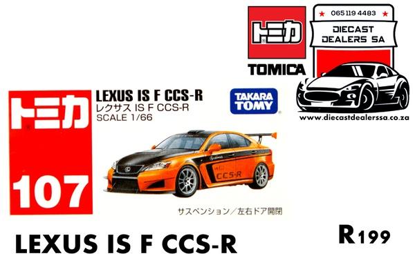 Lexus isf ccs-r picture