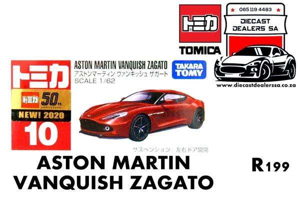 Aston martin vanquish zagato picture