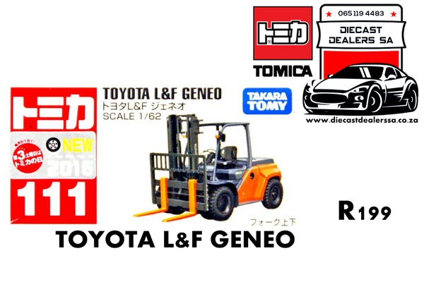 Toyota l & f geneo forklift picture