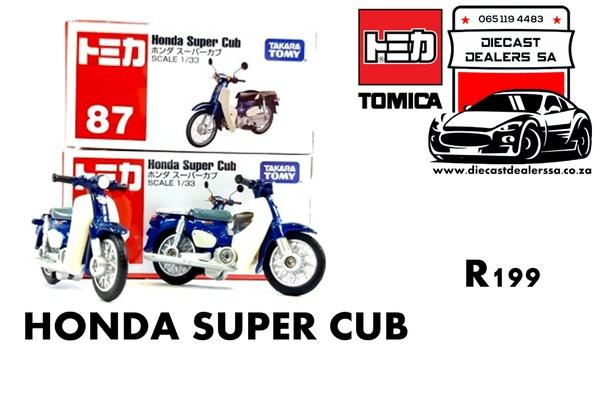 Honda super cub picture