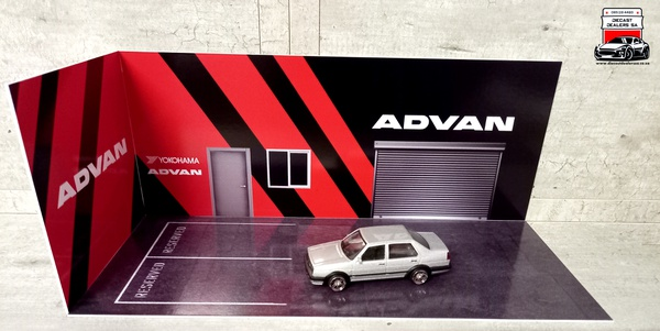 Advan diorama car not included picture