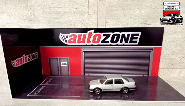 Autozone diorama car not included picture