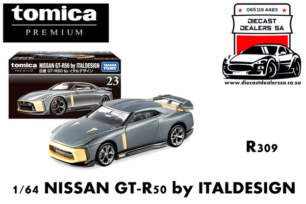 Nissan gtr50 by italdesign grey picture