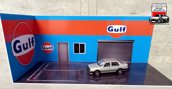 Gulf diorama car not included picture