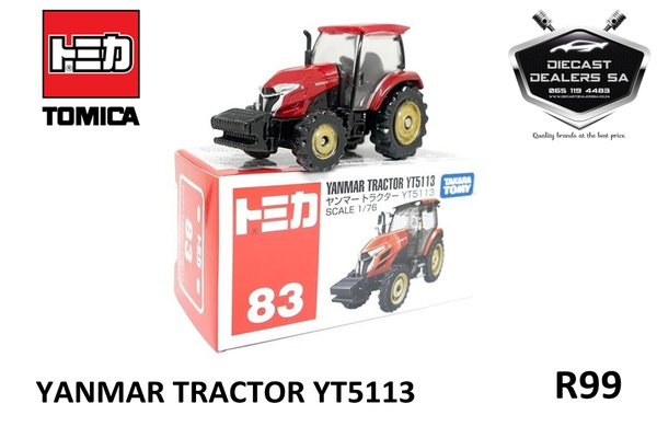 Takara tomy tomica yanmar tractor picture