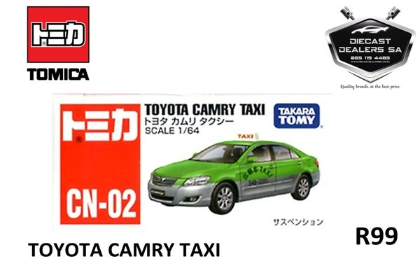 Takara tomy tomica toyota camry taxi picture