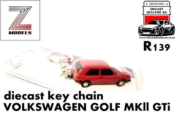 Volkswagen golf mkll gti key chain picture