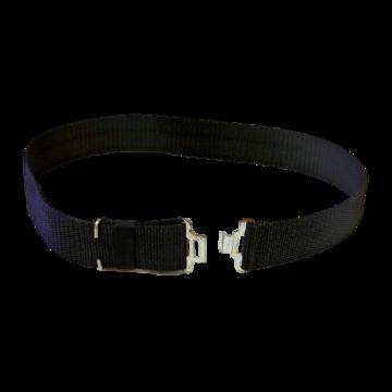 Combat web belt - black/navy/red picture