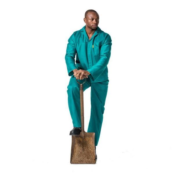Dromex poly cotton 8020 conti suit green picture