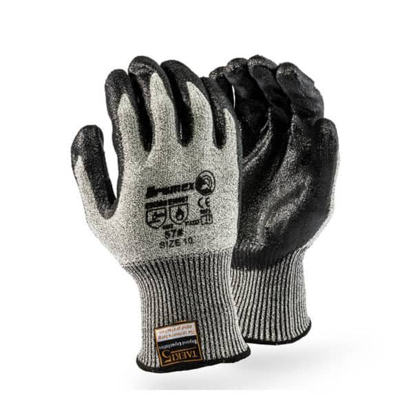 Cut5 seamless dbl dotted glove picture