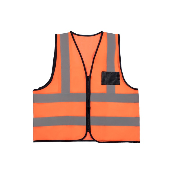 Value reflective vest with zip and id pocket picture