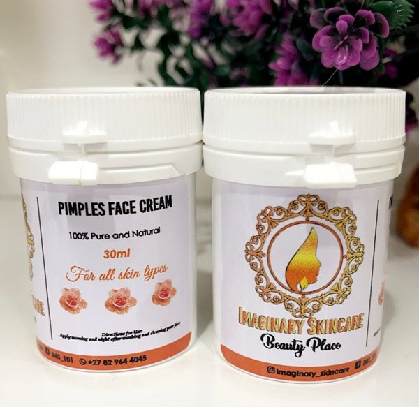 Pimples clearing face cream picture