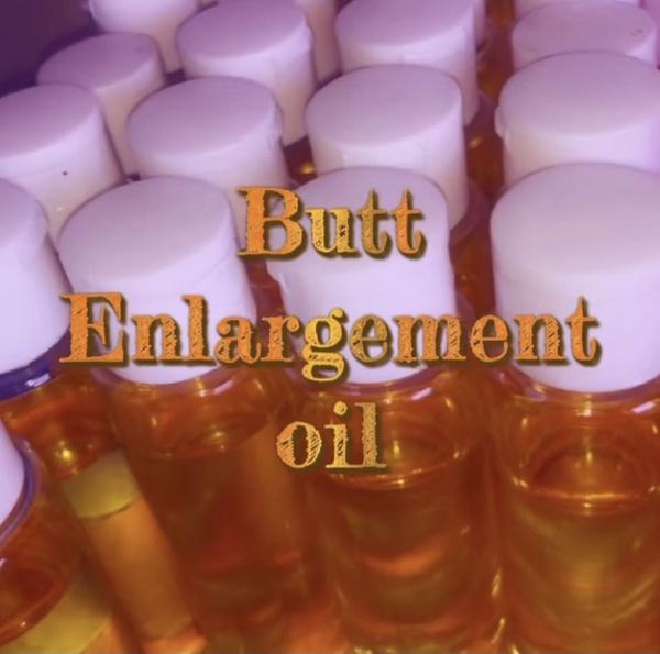 Organic hip & butt enlargement oil picture