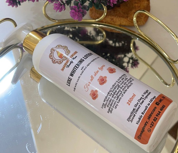 Luxe  whitening lotion picture