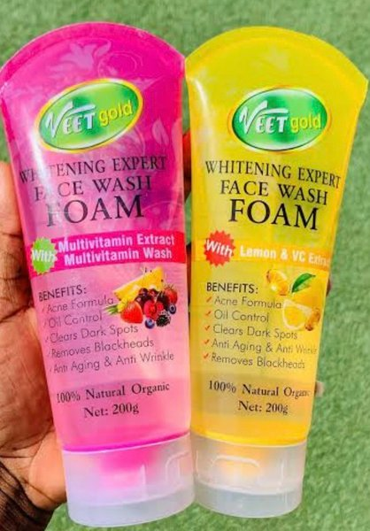 Veetgold whitening  expert  face wash foam picture