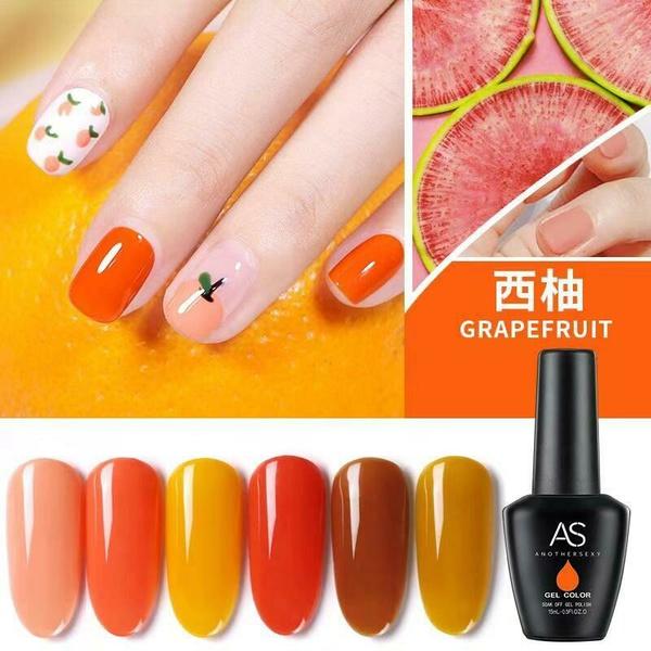 Gel polish uv led 15ml - grapefruit range picture