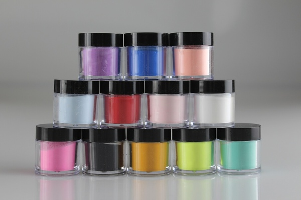 Set of 12 color powders picture
