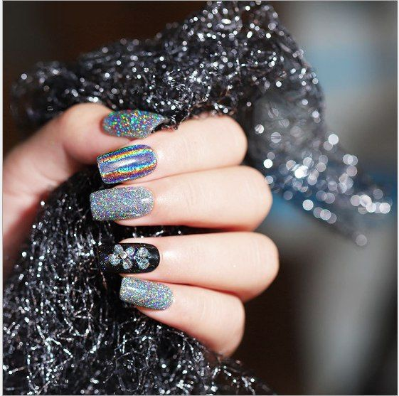 Magic 4 in 1 holo dipping powder picture