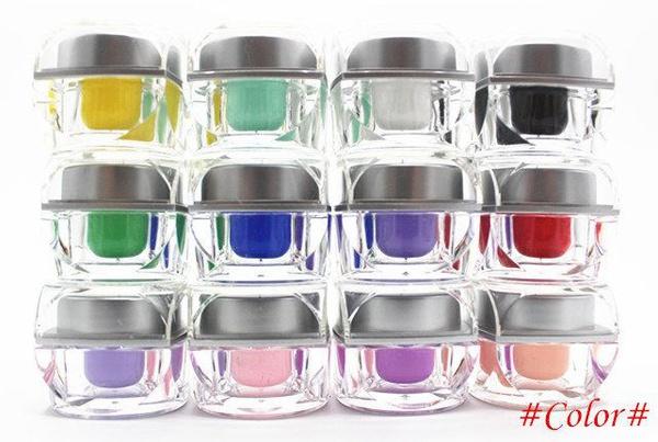 Set of color gels uv led picture