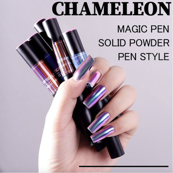 Chameleon magic pen solid powder pen style picture