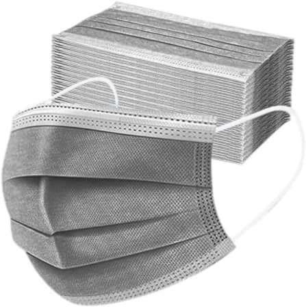 Grey disposable masks 50s picture