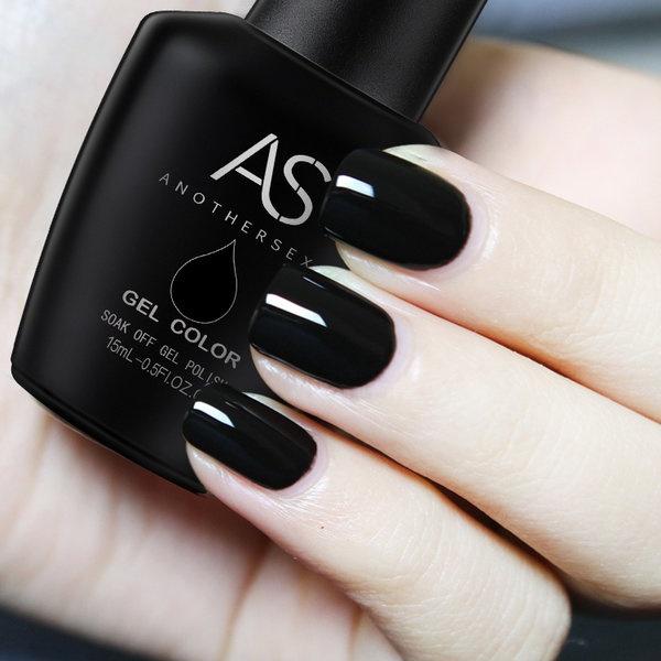 Gel polish uv led 15ml - black picture