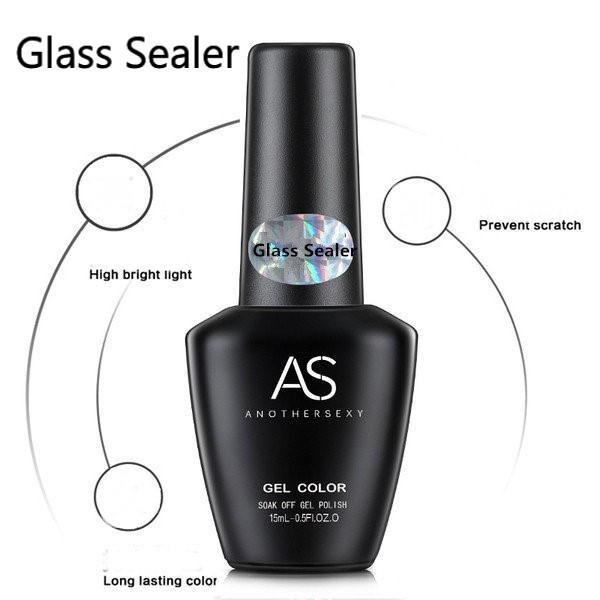 Glass sealer uv led top coat 15ml - clear picture