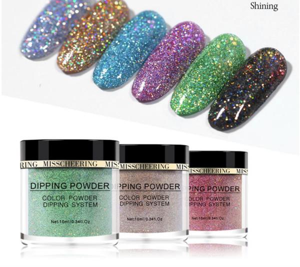 Dipping powder -shining glitter range picture