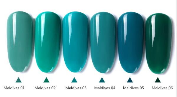 Gel polish uv led 15ml - maldives range picture