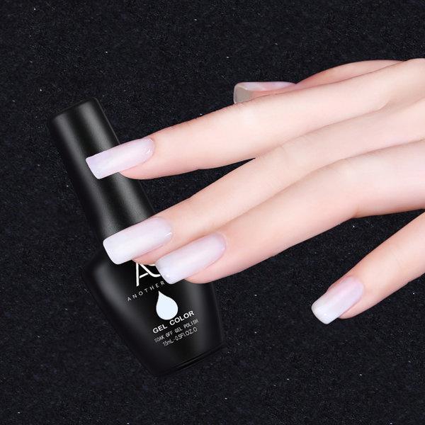 Gel polish uv led 15ml - milk white picture