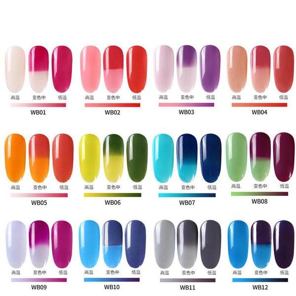 Gel polish uv led 15ml - color change range picture