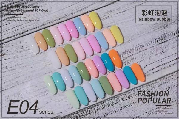 Gel polish uv led 15ml - rainbow range picture