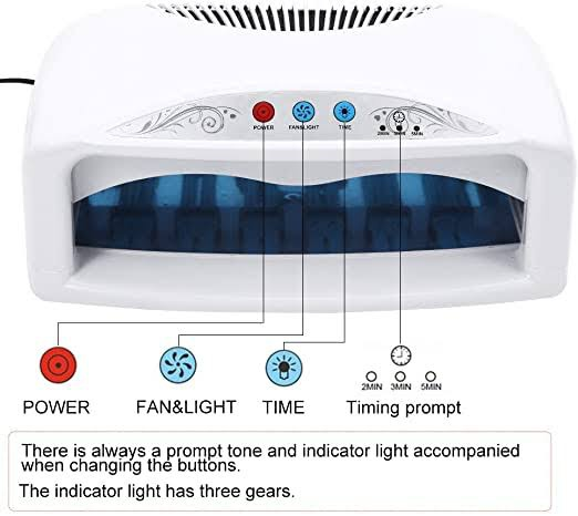 Smart dual use lamp 6 uv lamps 54w picture