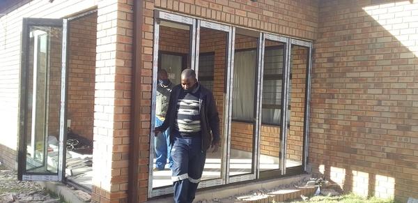 Folding doors picture