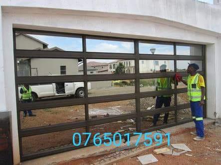 Aluminium garage doors and aluminium gates picture