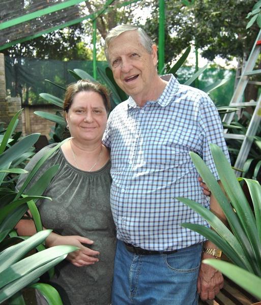 Ben and Rita van Niekerk picture