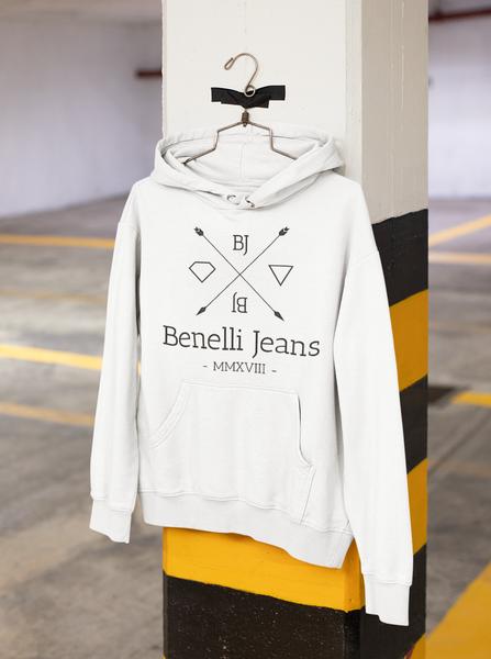 Bj crisscross hoodie picture