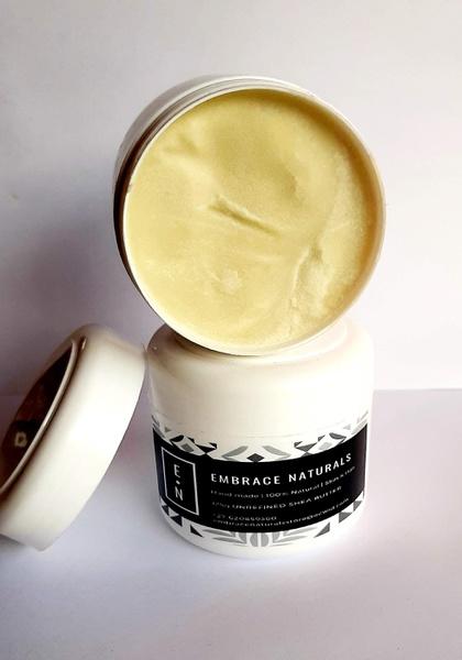 Unrefined raw shea butter picture