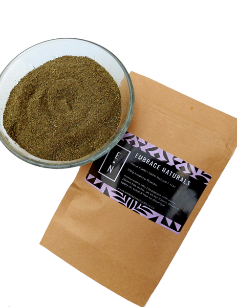 100g  ambunu herbal shampoo  & detangler picture